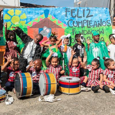 10 años Hogar Infantil Santander de Quilichao