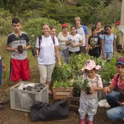 Jornada de Siembra en el Río Quilichao